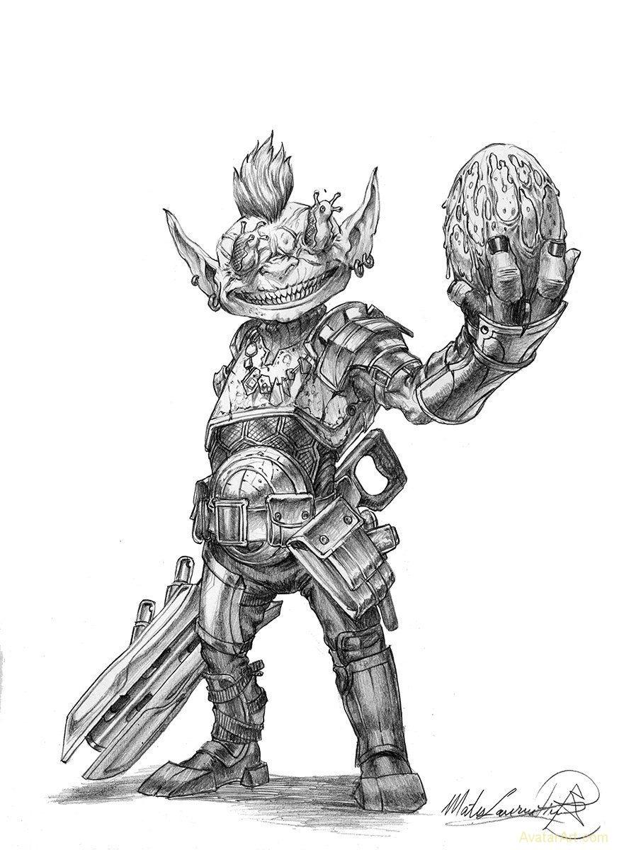 Goblin Mechanic