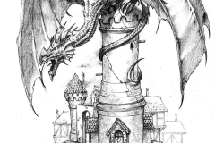 Perching Dragon