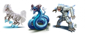 Gallery 2 – Character, Monster, and Artifact Art