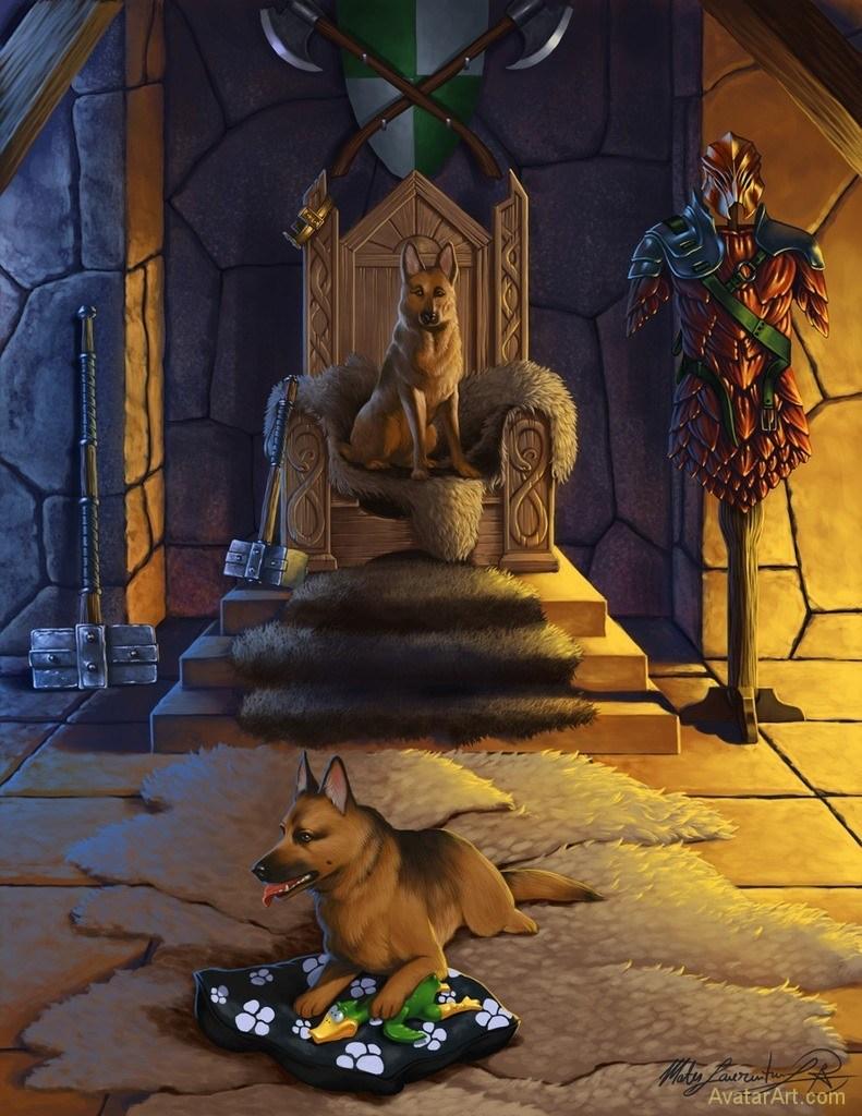 royal_dogs_by_mateslaurentiu_dbm8821
